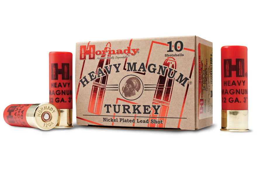 HORNADY AMMO 12 GA #6 NICKEL 3 INCH TURKEY