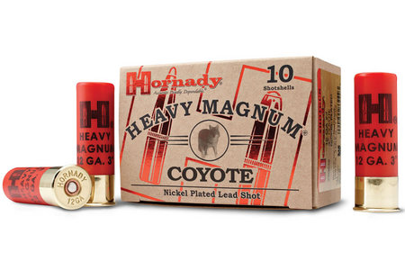 HORNADY 12 Ga 00 Buck Nickel Heavy Magnum Coyote 10/Box