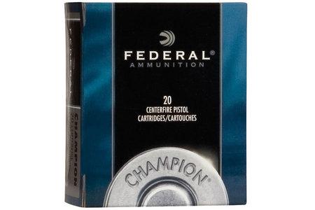 FEDERAL AMMUNITION 32 HR Magnum 95 gr Lead Semi-Wadcutter Champion 20/Box