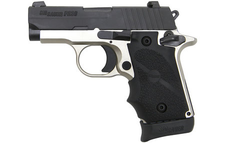 P238 2-TONE PLATINUM 380 ACP EXCLUSIVE