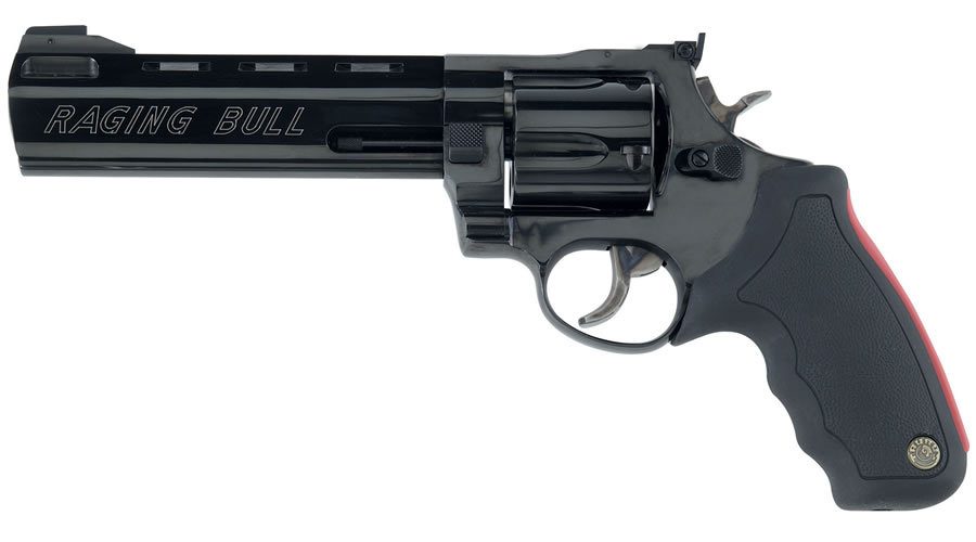 Taurus Model 444 Raging Bull .44 Magnum Black Revolver (6 ...