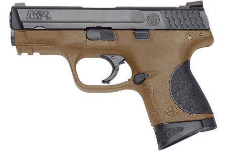 SMITH AND WESSON MP9C 9MM COMPACT FDE PISTOL