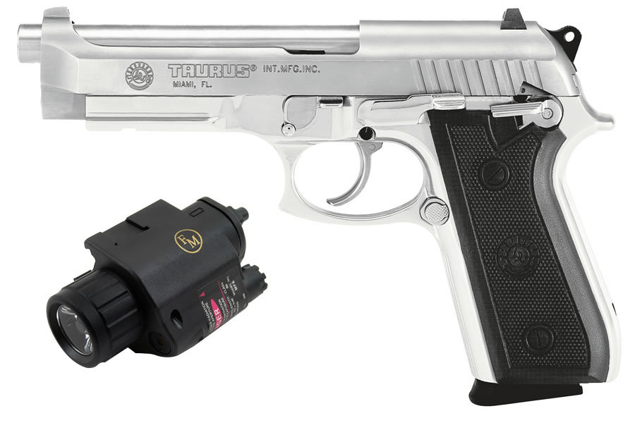 taurus pt92 af 9mm stainless with light laser sportsman s outdoor rh sportsmansoutdoorsuperstore com