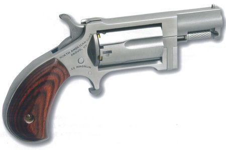NORTH AMERICAN ARMS Sidewinder 22 Magnum Mini-Revolver