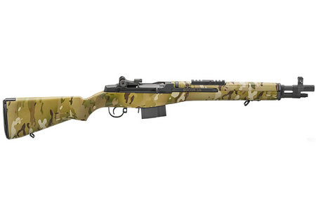 SPRINGFIELD M1A SOCOM 16 308 WITH MULTI-CAM STOCK