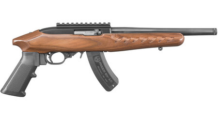 RUGER 22 CHARGER 22LR BROWN LAMINATE STOCK
