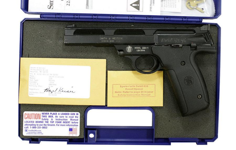 smith wesson 22a 22lr police trade in rimfire pistols rh sportsmansoutdoorsuperstore com Smith and Wesson Model 22A Smith and Wesson 22A- 1