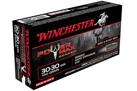 WINCHESTER AMMO 30-30 Win 150 gr PHP Power Max Bonded 20/Box