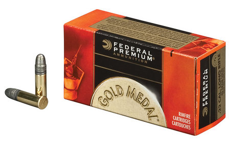 FEDERAL AMMUNITION 22 LR 40 gr Solid Gold Metal Target 500 Round Brick