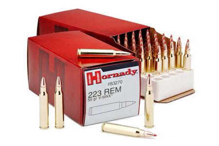 HORNADY 223 Rem 55 gr V-Max Varmint Express Exclusive 50/Box