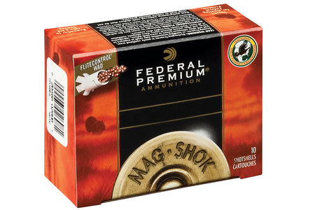 Federal 12 Ga 3 in 2 oz #4 Mag-Shok Lead 10/Box