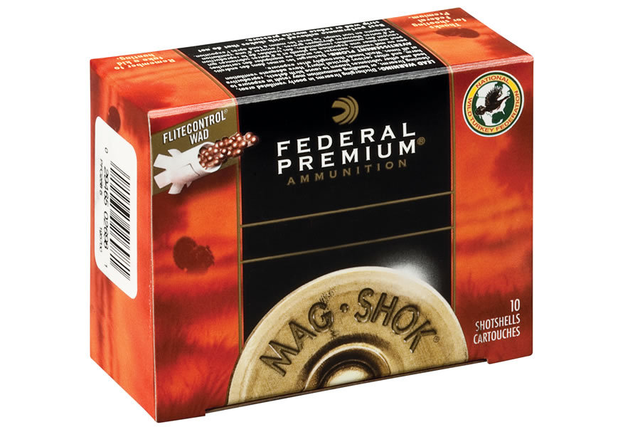 12 GA 3 IN 4 DE 2 OZ 4 MAG-SHOK TURKEY
