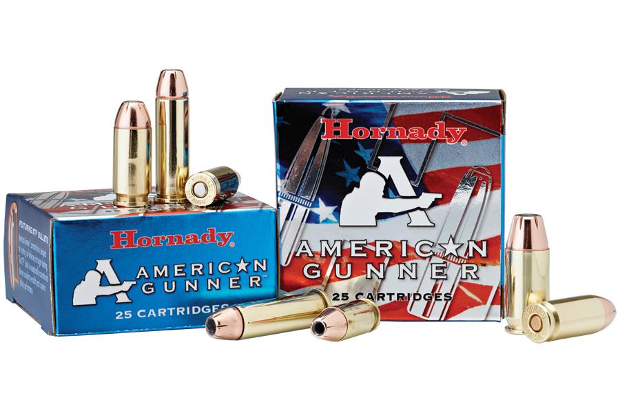 HORNADY 9MM LUGER+P 124GR XTP AMERICAN GUNNER