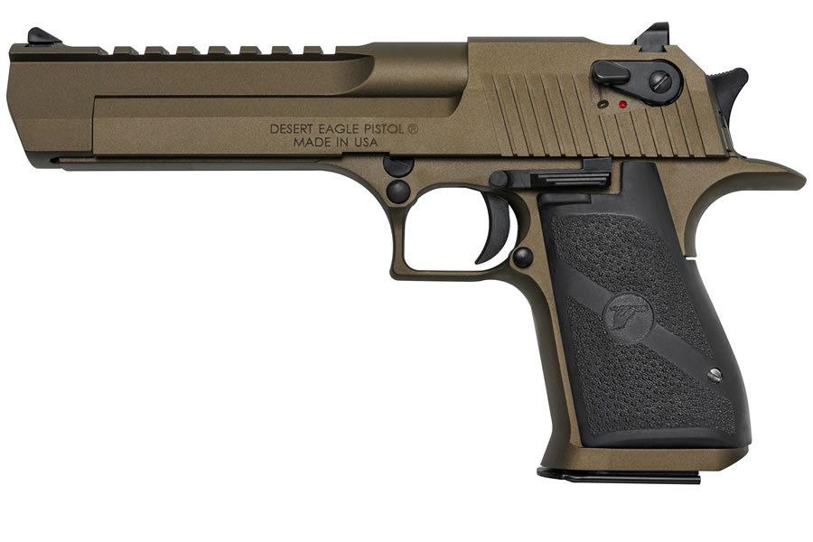 magnum research desert eagle 44 magnum burnt bronze pistol