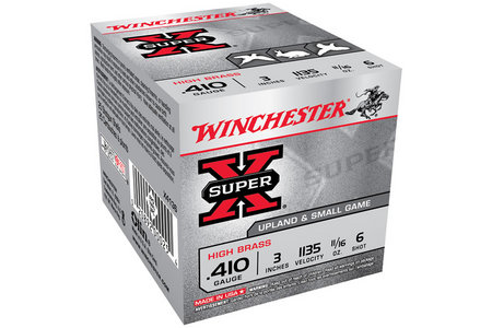 Winchester 410 Ga 3 in 11/16 oz #6 Show Super X 25/Box