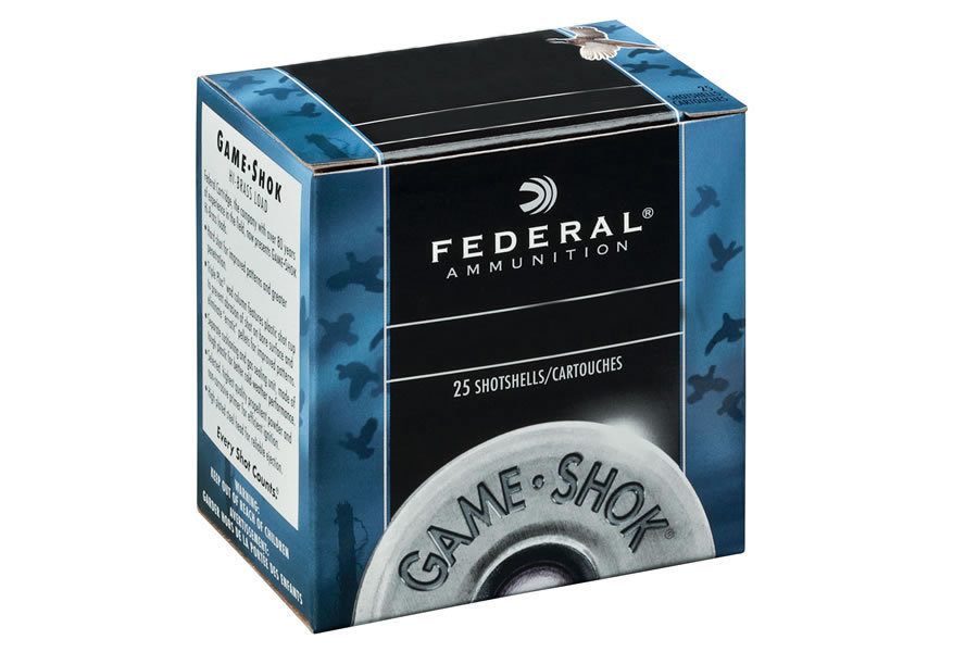 12 GA 2-3/4 IN 3-1/4 DE 1-1/8 OZ 6 GAME-SHOK HEAVY FIELD