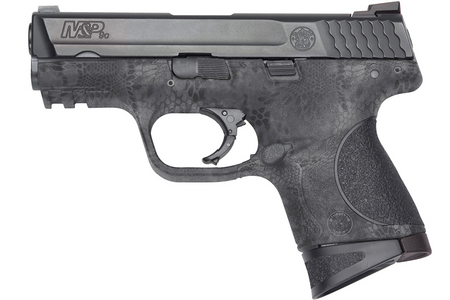SMITH AND WESSON MP9C 9MM WITH KRYPTEK TYPHON FINISH