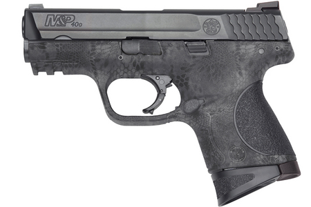 SMITH AND WESSON MP40C 40SW WITH KRYPTEK TYPHON FINISH