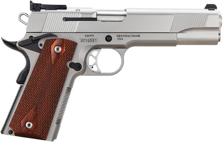 SW1911 45 ACP WITH ADJUSTABLE REAR SIGHT