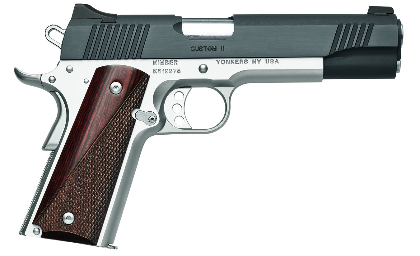 CUSTOM II TWO-TONE 45 ACP PISTOL  sc 1 st  Vance Outdoors & Kimber Custom II 45 ACP Two-Tone Centerfire Pistol | Vance Outdoors