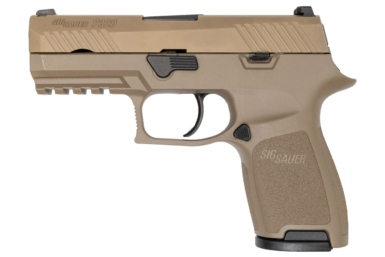 P320 COMPACT 9MM FDE W/ NIGHT SIGHTS