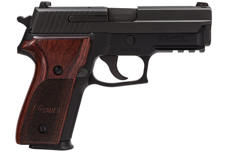 P229 9MM PISTOL WITH ROSEWOOD GRIPS