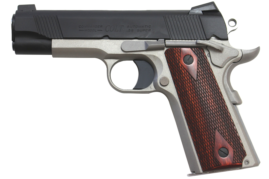 Colt 1911 Lightweight Commander 38 Super Talo Exclusive ...