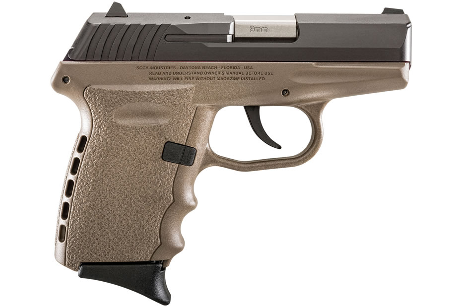 No. 17 Best Selling: SCCY CPX-2 9MM FDE CARRY CONCEAL PISTOL