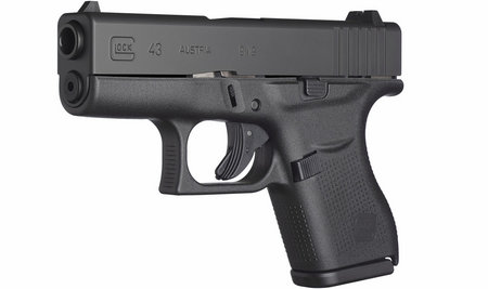 GLOCK 43 9MM SINGLE STACK PISTOL