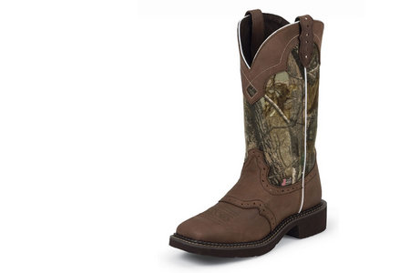 LADIES GYPSY 12 IN. CAMO BOOT