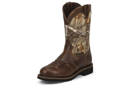 11 IN RUGGED TAN W/ CAMO STAMPEDE