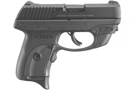 RUGER LC9S PRO 9MM WITH CRIMSON TRACE LASER