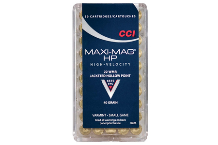 22 WMR MAXI MAG 40 GR JHP