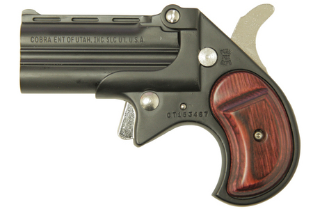 BIG BORE 38 SPECIAL BLACK DERRINGER