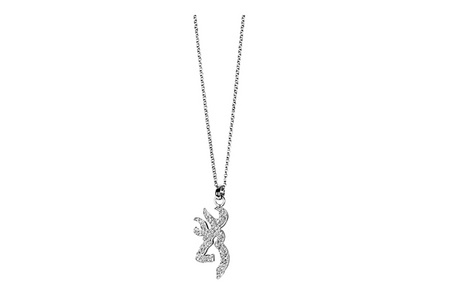 BUCKMARK ICE BLING NECKLACE