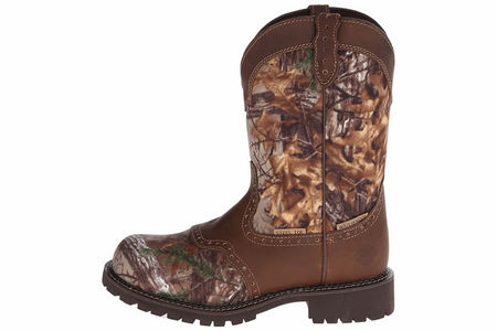 LADIES SAFETY RD TOE BOOT CAMO
