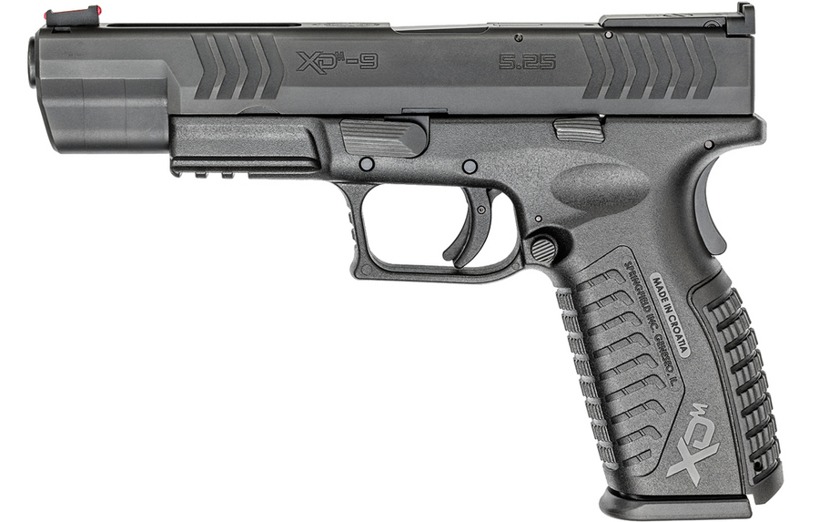 Xdm Tactical 9mm Xdm 9mm 5.25 Competition Black