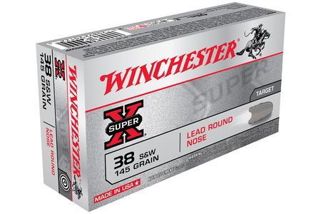 38SW 145 GR LRN SUPER X 50/BOX