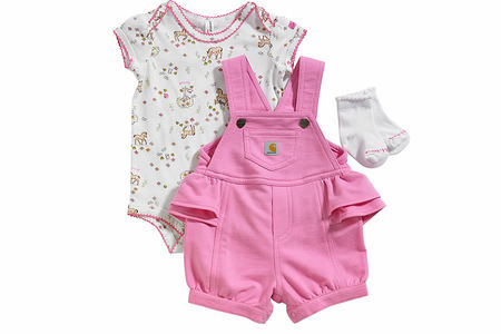 3 PIECE SHORTALL SET