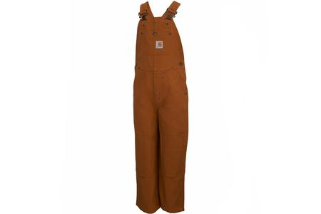 YTH WASHED CANBAS BIB OVERALL