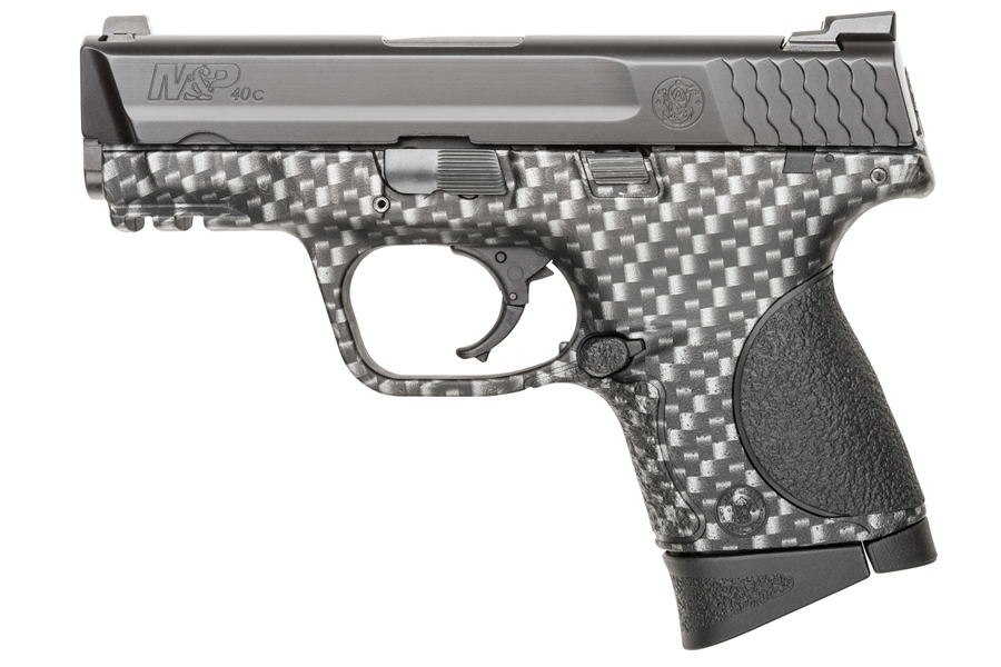 Smith & Wesson M&P40C 40 S&W Compact Pistol with Carbon Fiber Finish ...