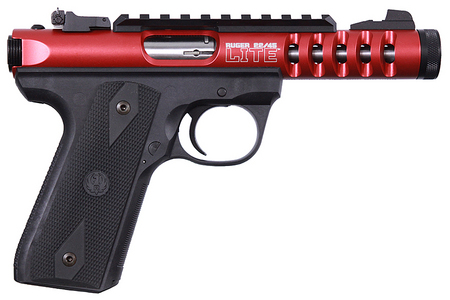 RUGER 22/45 LITE 22LR RED ANODIZE