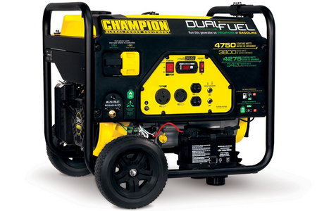 4750/3800 WATT DUAL FUEL GENERATOR