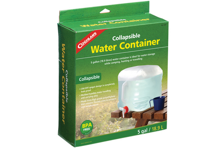 COLLAPSIBLE WATER CONTAINER-5 GALLON