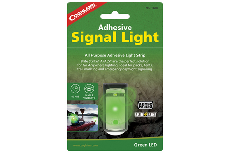 ADHESIVE SIGNAL LIGHT GREEN