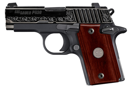 P938 ENGRAVED ROSEWOOD 9MM