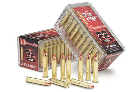 Hornady 22 WMR 30 gr V-Max Rimfire Varmint Express 50/Box