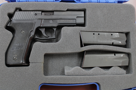 SIG SAUER P226 DAK 40SW USED POLICE TRADE-INS