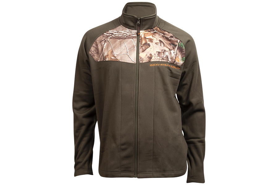 8b14c255164f2 Rocky Camo Panel Full Zip Fleece Jacket | Vance Outdoors