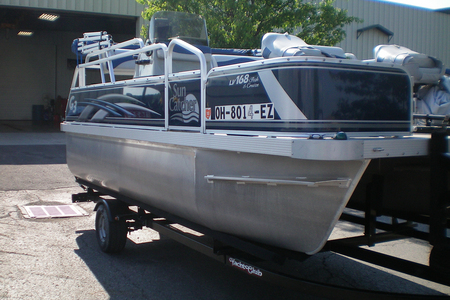 2011 G3 SUNCATCHER 168 PONTOON
